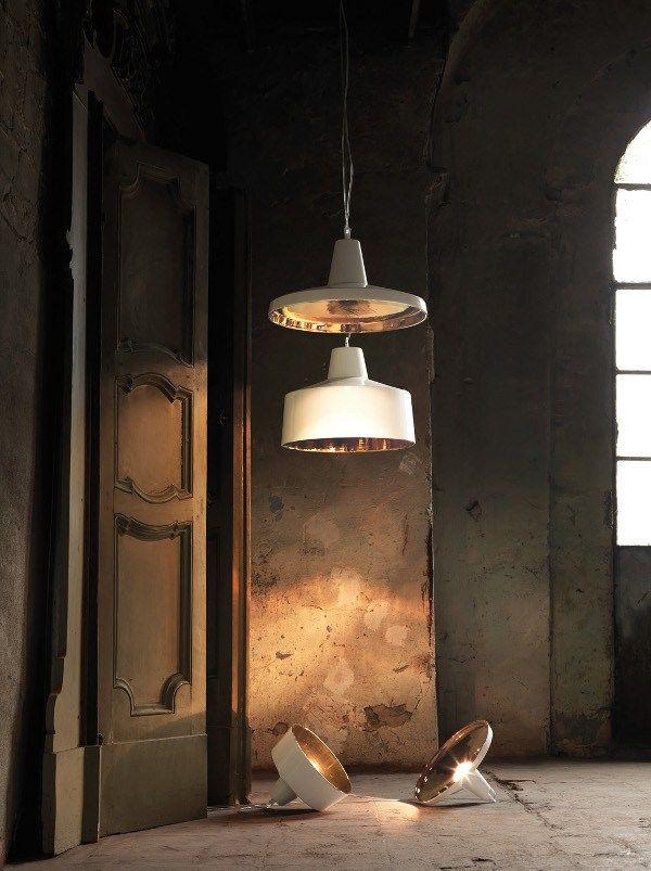 Ceramic pendant #lamp GANGSTER by Karman | #design Matteo Ugolini @Karman srl