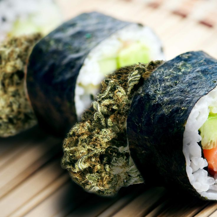 Stoner sushi: Colorado chain offers weed pairings with their rolls. New meaning to curing the munchies. Hahaha.