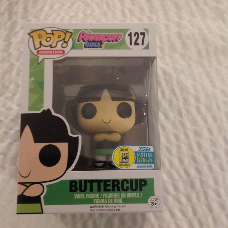 Power puff girls Buttercup Funko POP! SDCC 2016 exclusive. SOLD OUT!!