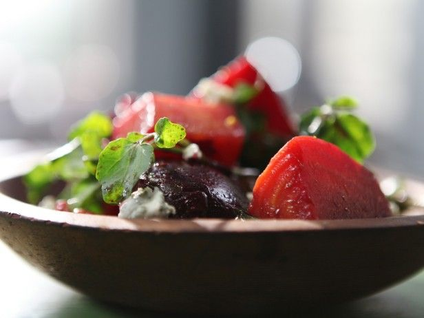 Slow-Roasted Beets with Blue Cheese, Watercress and Toasted Walnuts ...