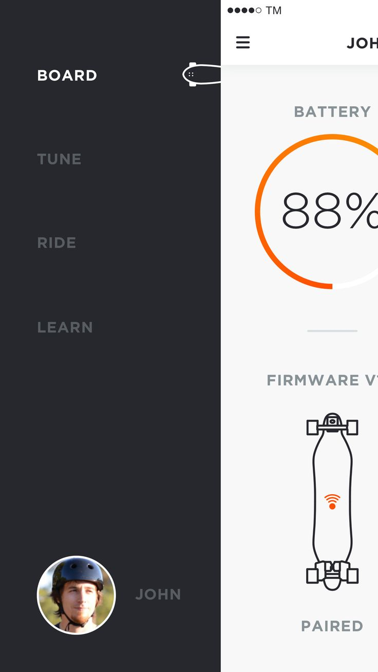 Inside the Design of the Boosted Boards iOS App — TM Design Stories — Medium