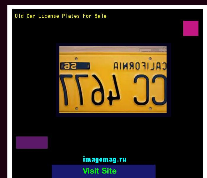 Old car license plates for sale 154453 - The Best Image Search