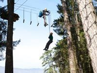 Training at Talloires Base Nature Aventure course − Altus