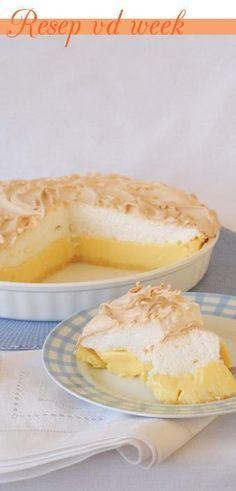 Lemon meringue tart #recipe #WorldBakingDay   Suurlemoenmeringuetert
