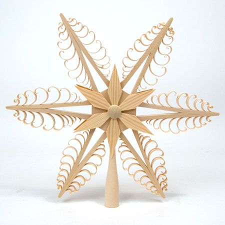 Spanbaum Simple Star Topper for Large Trees Totally getting this for next year!!