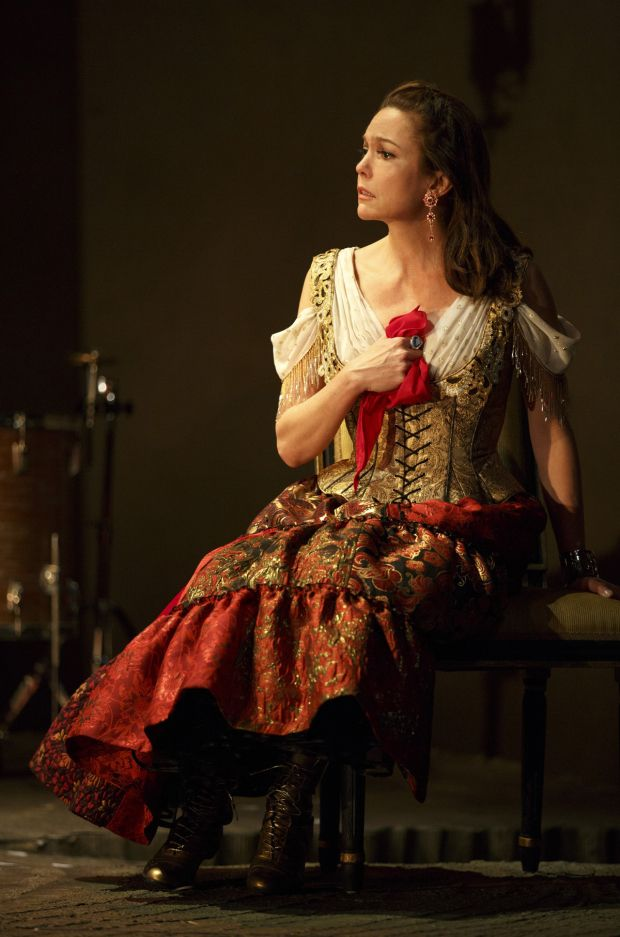 the cherry orchard | Diane Lane plays Lyubov Ranevskaya in The Cherry Orchard on Broadway.