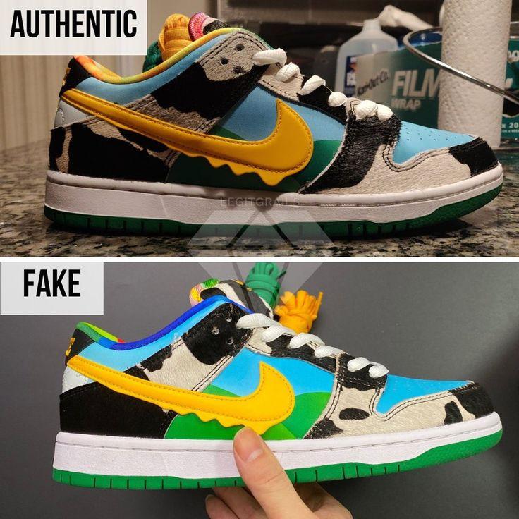 Arnaque : Comment reconnaître une fausse paire de Nike SB Dunk Low ...