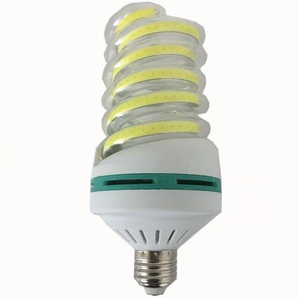 E27 30w Led Bulb Cob Spiral Shape White Energy Saving Corn Light Lamp Ac85 265v Led Bulb Lamp Light Spiral Shape