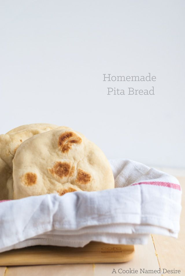 This is a deliciously authentic homemade pita bread recipe you will want to make every day