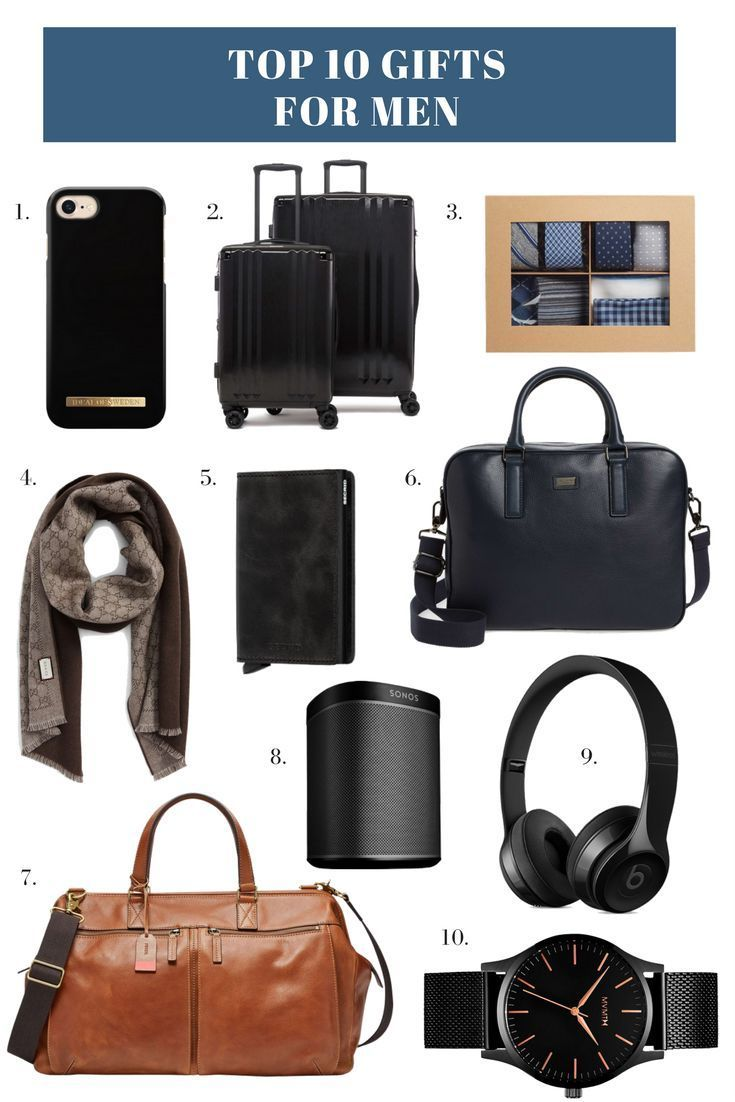 10 Best Gifts for Men this Holiday Season + $1000 Nordstrom Giveaway