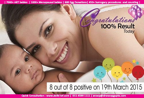 Nothing could make our team more happier than achieving 100% pregnancy rates, refer your friends and relatives to reach out to us today. http://delhi-ivf.com/reachus.aspx #happy #pregnancy #success #ivf #ivfindia #delhiivf #ivfdelhi