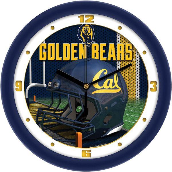 California Berkeley Golden Bears - Football Helmet Wall Clock