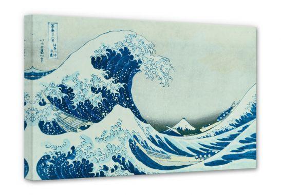 Stampe su tela - Stampa su tela - Hokusai - La grande onda di Kanagawa