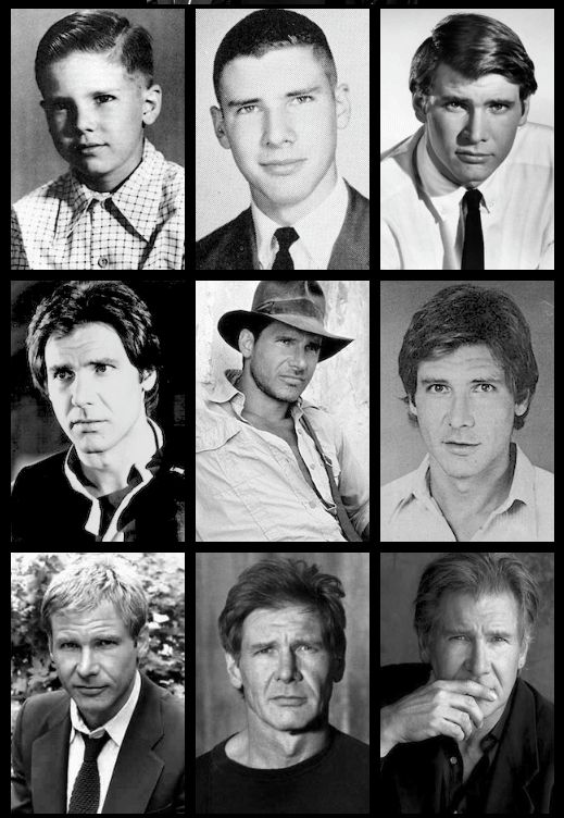 Harrison Ford - has got it, has always had it, and will never lose it. Love.