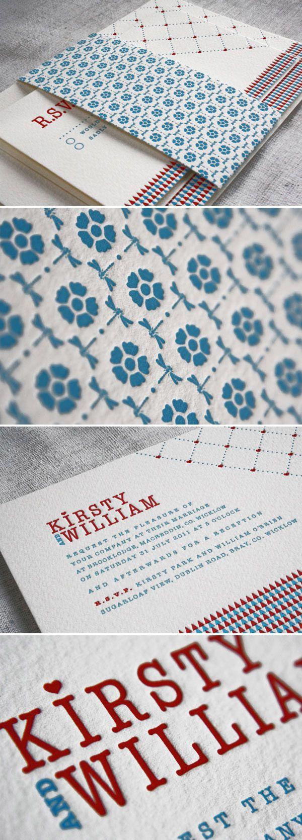 84 best Letterpress Wedding Inspiration images on Pinterest ...