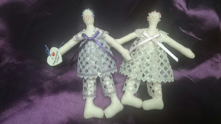 Design by Deanne Drage 2006 I made 80 of these pin dolls for each of the ladies at our parchment camp in Tom Price Western Australia,  all totally hand stitched!!!!