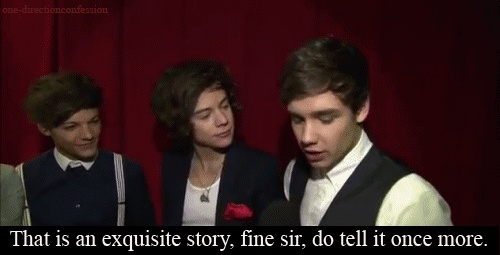 (GIF): Direction Infection, So Cute, Direction Gif, 1D Gifs, Direction 2, One Direction Funny, Funny Tumblr, Harry Style, Closet Directioner