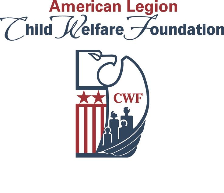 American legion child welfare foundation logo military
