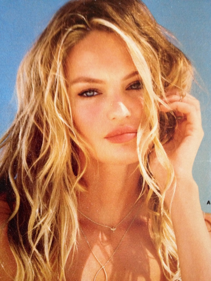 my prom look candice swanepoel beach waves and natural