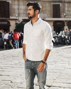 Men's Slim Fit Shirt | Smart & Casual Shirts For Men | Zorket