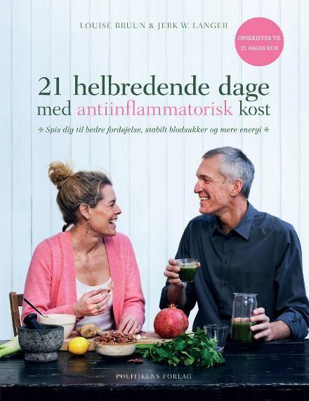 Læs om 21 helbredende dage med antiinflammatorisk kost - spis dig til bedre fordøjelse, stabilt blodsukker og mere energi. Udgivet af Politiken. Bogens ISBN er 9788740030860, køb den her