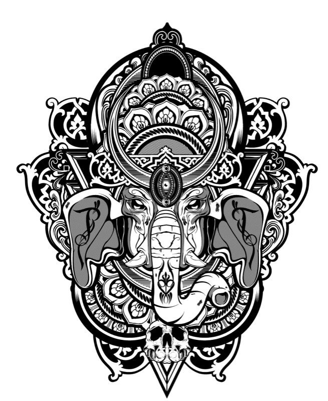 Elephant Mandala Tattoo Tattoos T Tatuajes Elefantes Y: Http://www.hydro74.com