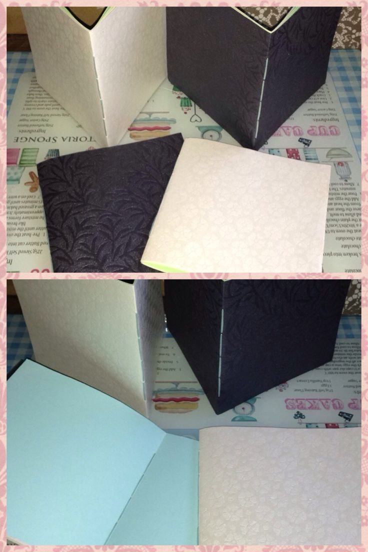 Handsewn notebooks made by me x