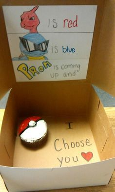 prom proposals tumblr - Google Search                                                                                                                                                                                 More