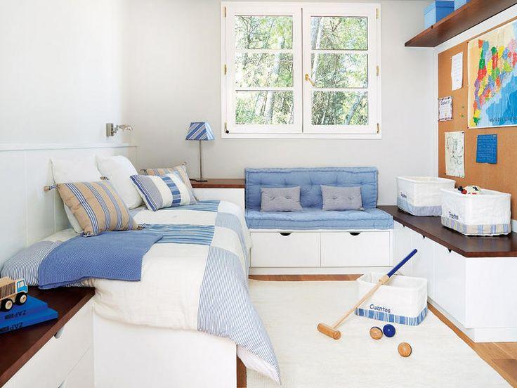 M s de 1000 ideas sobre decoraci n del dormitorio azul en - Habitaciones infantiles azules ...