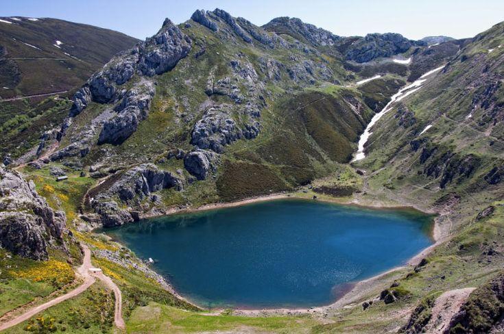 Lago de la Cueva - Lagos de Somiedo - Asturias
