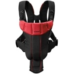 A carrier that can double as an accessory! #babybjornus #pinandwin