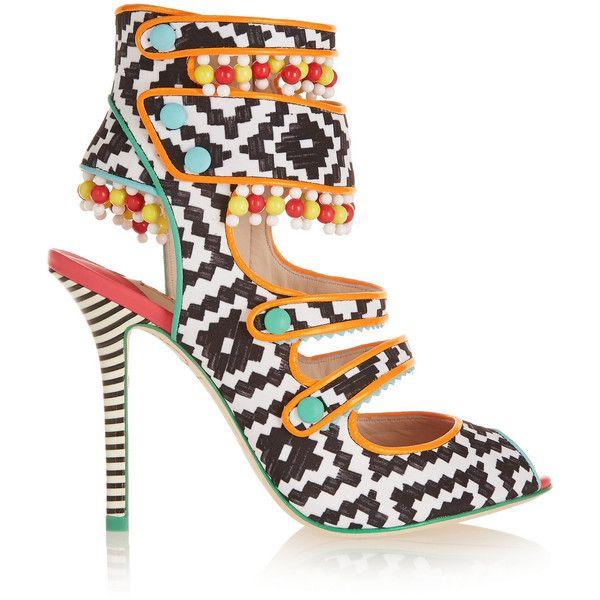 """Über 1.000 Ideen zu """"Multi Coloured Strappy High Heels auf ..."""