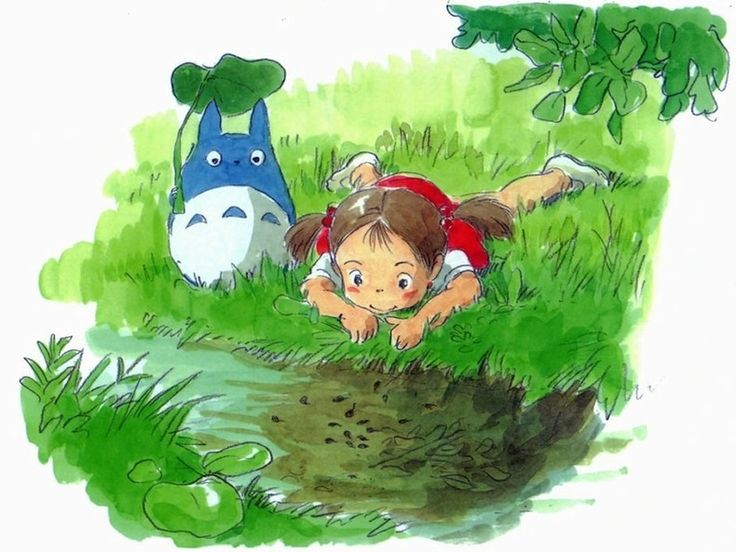 Tonari no Totoro (My Neighbour Totoro): At the Stream