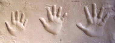 moldes previos para talla en mármol.