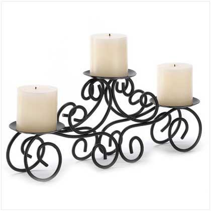 Tuscan Candle Holder Centerpiece - Best-Decor.com