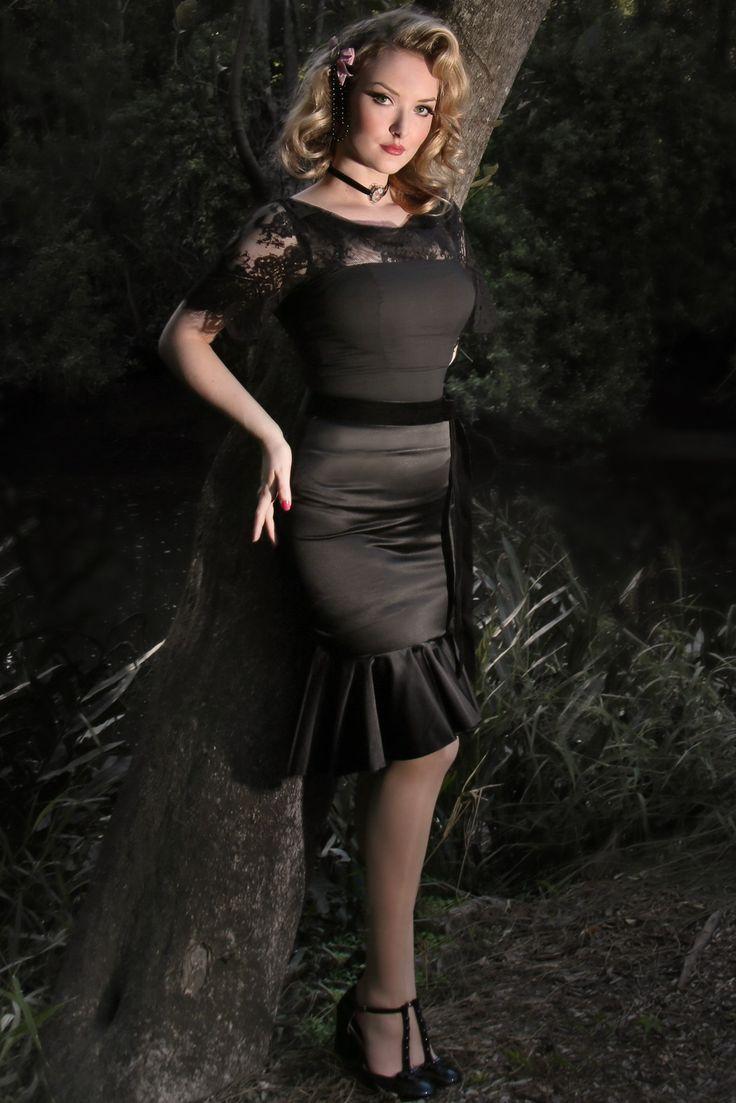 D'Amour Flounce Skirt