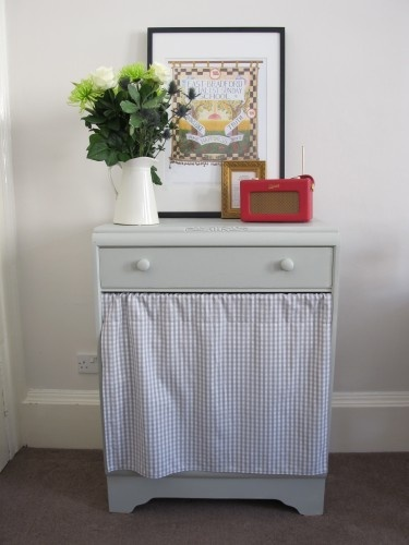 I'm going to try doing this to an old dresser I found on Craigslist and use it to hide my cat's litter box.