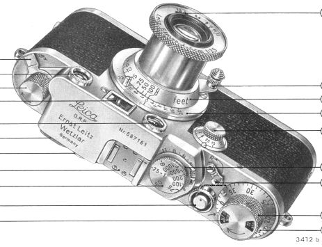Leica IF, IIF, IIIFinstruction manual, user manual, free PDF camera manuals