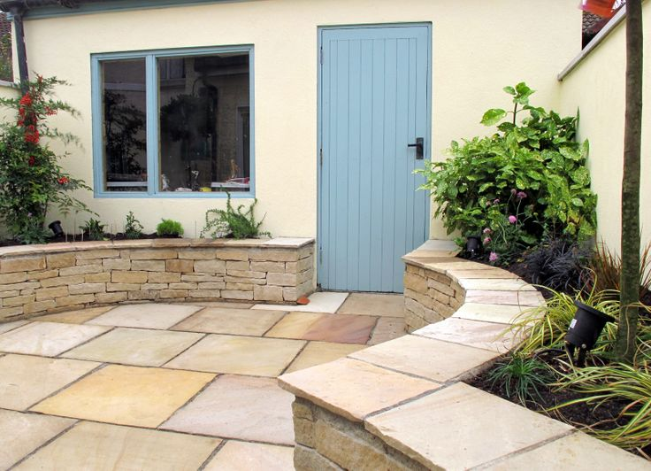 Raised planting beds are ideal for controlling the planting area and provide more space for patio area