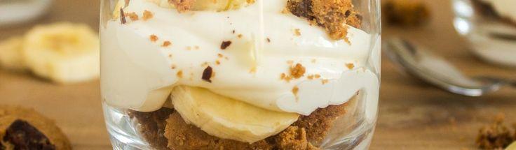 Chocolate chip cookie banaan desserts