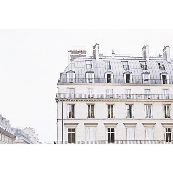 Extra Large Paris Photography Wall Art, Paris Print, Paris Home Decor,... (13890290 BYR) ❤ liked on Polyvore featuring home, home decor, wall art, neutral home decor, paris wall art, photography wall art, parisian home decor and paris home decor
