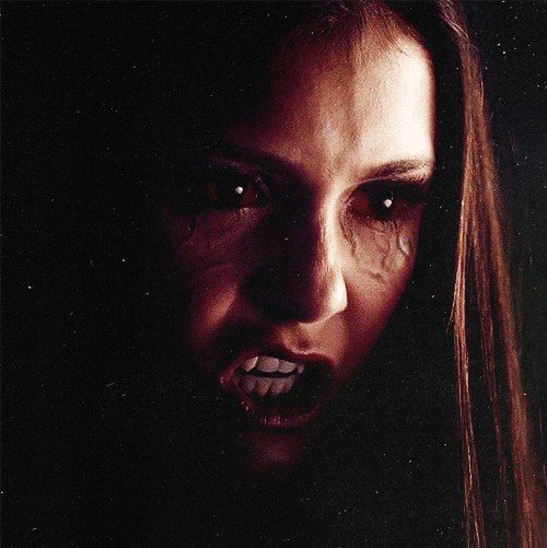 Vampire Diaries Elena this is how i think i look when im really mad