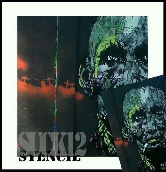 Stencil by suck12 indonesia