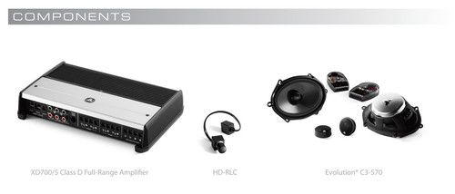 JL Audio SMS-F-150/SPRC/BAS:StealthMod™ for 2009-Up Ford F-150 SuperCrew with base sound system