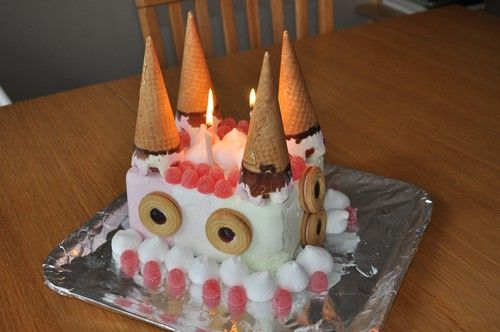 glasstårta barnkalas slott - Sök på Google