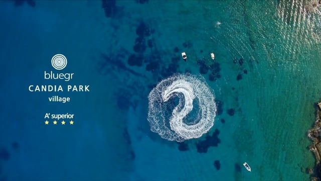 Crete – Agios Nikolaos – Candiapark   Drone Travel
