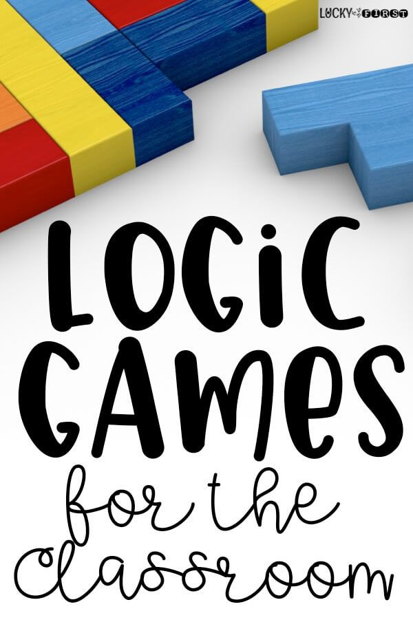 Logic Games for the Primary Classroom! Looking for ways to get your students to stretch their brains? Check out these ideas!  via @mbuckets