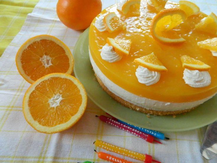 gateau orange 2