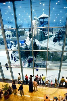 Mall of the Emirates-Dubai  Just your typical mall with an indoor ski resort!!??