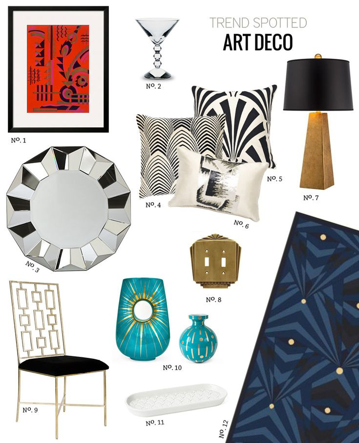 great gatsby interiors - Uncle Mondy likes Art deco